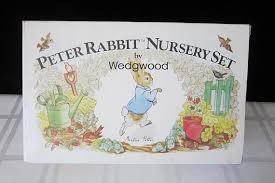 wedgwood rabbit nursery set beatrix potter rabbit nursery set by wedgwood china