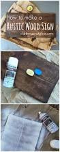 how to make a plain wood board look rustic rustic wood wood