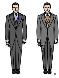 jaquette mariage les habits formels stiff collar