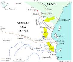 Africa On Map by The Journals Of Dan Fewster Maps East Africa