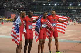 4 100 metres relay at the olympics wikipedia