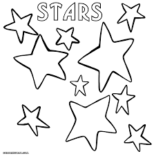 star coloring pages coloring pages download print