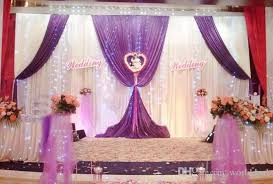 wedding backdrop fabric 3m 6m satin fabric curtain wedding stage backdrop party