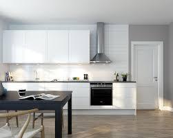White Kitchen Cabinets With Grey Walls by Kitchen White Nice Wood Cabinet Subway Tile Backsplash Nice