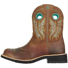 s fatbaby boots size 12 ariat fatbaby boot powder brown in stable