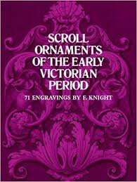 scroll ornaments of the early period dover pictorial