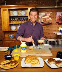 chef bobby flay and hellmann u0027s build the perfect sandwich in new