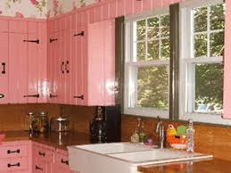 pink kitchen ideas and color schemes