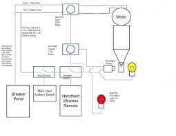 full wiring diagram for dust collection system clear vue cyclone