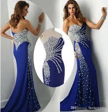 real image 2014 vestidos sweetheart mermaid prom dresses chiffon