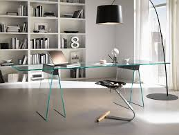 Modern Glass Desk With Drawers Office Desk Glass Office Table Glass Desk Black Glass