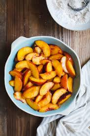 peach cobbler with brown butter chestnut biscuits gluten free