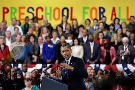 Seeking Obama From Preschool To High School Obama Seeking Big Progress In