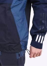adidas originals x white mountaineering bench jacket navy