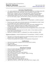 Transportation Resume Examples by Resume Pile Driver Operators Getting Inside Information From The