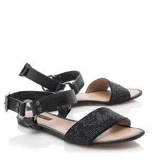 black sandals louis vuitton lv 39 5 9 5 strauss backstage flat leather black