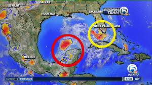 Mexico Weather Map by Tropical Wave Wednesday Morning Update Youtube