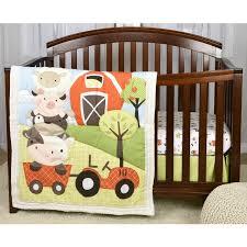Farm Crib Bedding Baby S By Nemcor Mcdonalds Farm 3 Crib Bedding Set