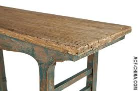 salvaged wood console table trend guide rustic furniture made from reclaimed elm and other