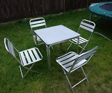 garage table and chairs garage table chair sets with 4 pieces ebay