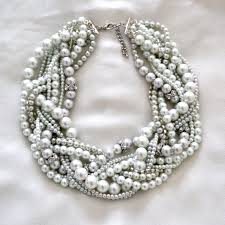 statement necklace pearl images The antoinette bridal pearl statement necklace vintage inspired jpg