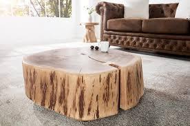 Table Basse Verre Roulette Industrielle by Tables Basses En Bois Massif Royale Deco