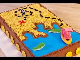 notre famille com cuisine gâteau d anniversaire pirate carte aux trésors
