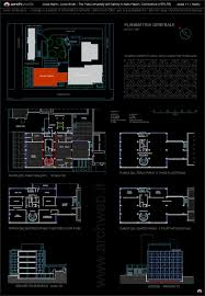 Yale University Art Gallery Floor Plan by Yale University Art Gallery Autocad Dwg