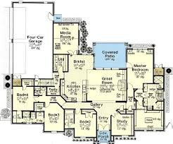 floor plans with 2 master suites 2 bedroom house plans with 2 master suites one story floor plans