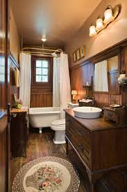 Country Bathroom Decor Best 25 Small Rustic Bathrooms Ideas On Pinterest Small Cabin