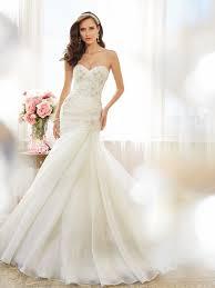 mermaid trumpet wedding dress tolli wedding dress satin lace mermaid trumpet gown