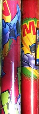 batman christmas wrapping paper batman and robin comic book