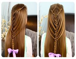 hairstyles easy step by step for hair and model