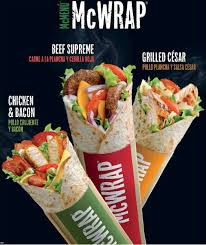 mcwraps might be mcdonald u0027s next big menu thing in the u s