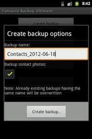 backup contacts apk contacts backup ultimate apk free tools app for android