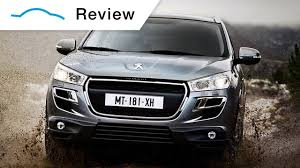 peugeot suv 2014 peugeot 4008 video review youtube