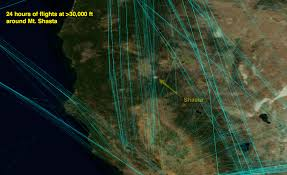 visualizing flight paths above 30 000 feet metabunk