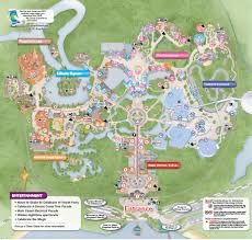 Disney Florida Map by New Disney World Maps Dbm Your Independent Disney News Source