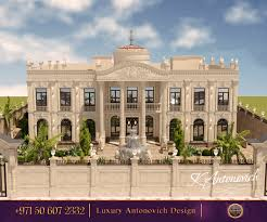 Mansion Design Royal Palace From Luxury Antonovich Design The Fine Line Of