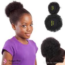 drawstring ponytail afro curl drawstring ponytail puff synthetic chignon plastic combs