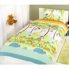 themed duvet cover jungle themed duvet covers kids childrens animals single junior