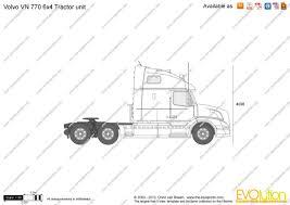 770 volvo trucks the blueprints com vector requests volvo vn 770 6x4 tractor unit