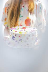 Flower Cakes D E S I G N L O V E F E S T Cake With Edible Flowers