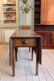 Folded Dining Table Antique English Georgian Oak Folding Dining Table Furniture