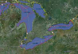 st seaway map map of the week paddle to the sea is on earth