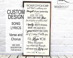 picture frames anniversary gifts wood signs by madikaydesigns