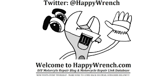 motorcycle repair link database happywrench