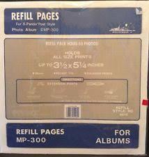 Pioneer Photo Album Refills Pioneer Plastic Photo Slip In Albums Ebay