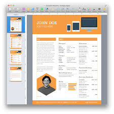 Iwork Resume Templates Creative Resume Template For Pages Mactemplates Com