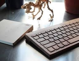 oree wooden keyboard gadget flow